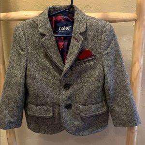 Ted Baker Black Classic Jacket Coat Sz 3